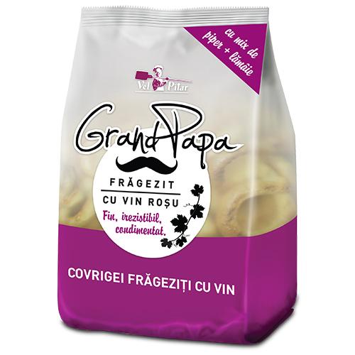 Grand Papa Covrigei frageziti cu vin rosu