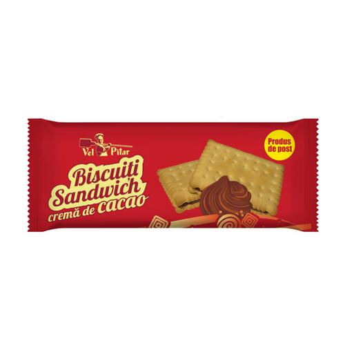 Biscuiti sandwich cacao