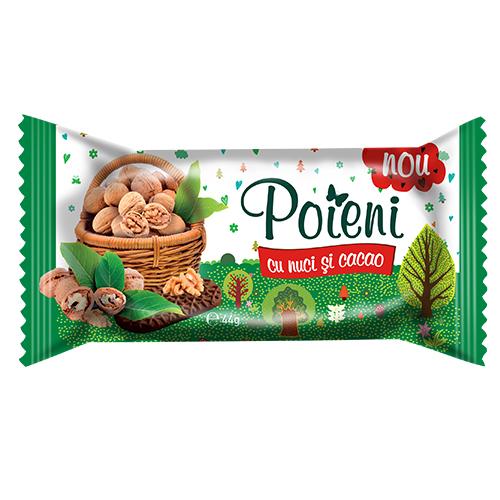 Poieni Biscuiti cu nuci si cacao