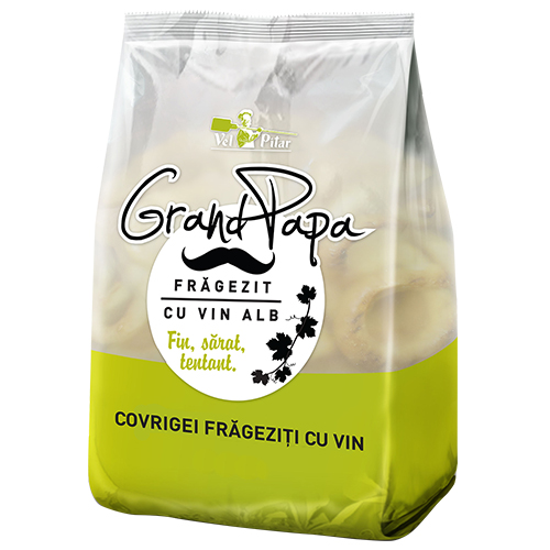 Grand Papa Covrigei frageziti cu vin alb