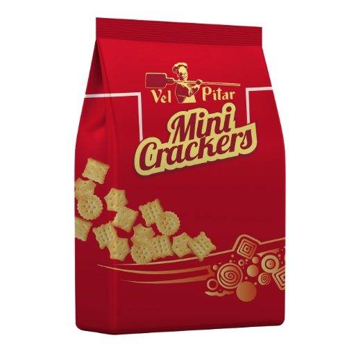 Vel Pitar Mini Crackers sare